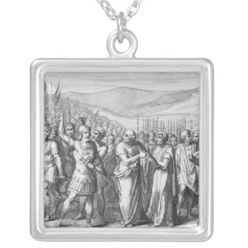 The Secession of the People to the Mons Sacer Jewelry