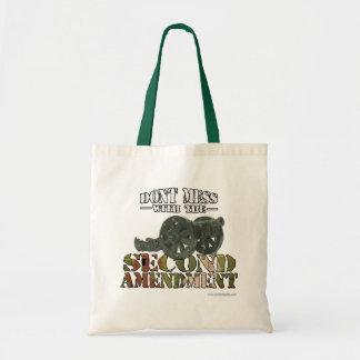 The Second Amendment Canvas Bags