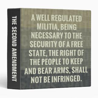 The Second Amendment Binder
