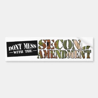 The Second Amendment Car Bumper Sticker