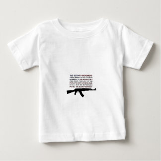 The Second Amendment Flag with AK Baby T-Shirt