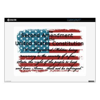 The Second Amendment Laptop Decal