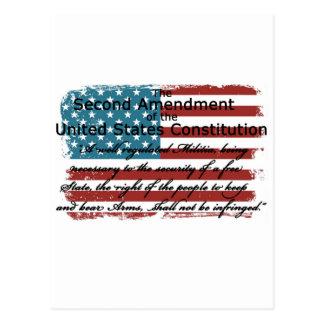 The Second Amendment Postcard