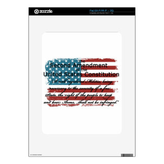 The Second Amendment Skin For The iPad
