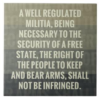 The Second Amendment Tiles