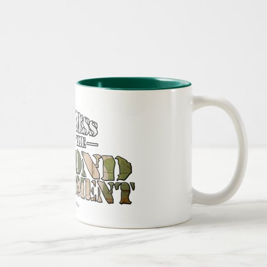 The Second Amendment Two-Tone Coffee Mug