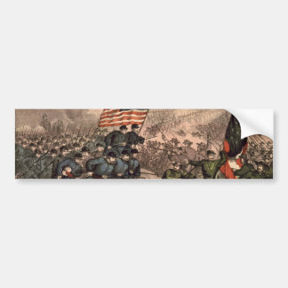 The Second Battle of Bull Run American Civil War Bumper Sticker