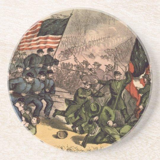 The Second Battle of Bull Run American Civil War Coaster
