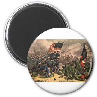 The Second Battle of Bull Run American Civil War Fridge Magnet