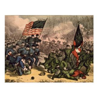The Second Battle of Bull Run American Civil War Postcard