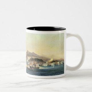 The Second Battle of Shimonoseki Two-Tone Coffee Mug
