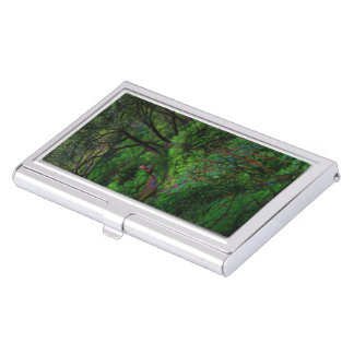 The Second Crossing By The Trees Business Card Case