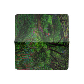 The Second Crossing By The Trees Checkbook Cover