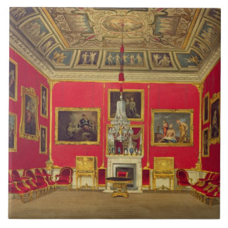 The Second Drawing Room, Buckingham House, from 'T Ceramic Tile