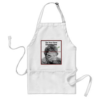 The Second Great Depression Adult Apron