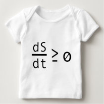 The Second Law of Thermodynamics Baby T-Shirt