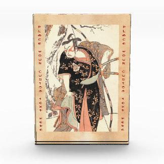 The Second Nakamura Juzo as a Samurai of High Rank Acrylic Award