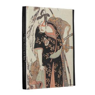 The Second Nakamura Juzo as a Samurai of High Rank iPad Folio Case