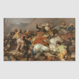 The Second of May 1808 The Charge of the Mamelukes Rectangle Sticker