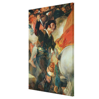 The Second of The Riot against the Mameluke Canvas Print