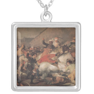 The Second of The Riot against the Mameluke Silver Plated Necklace