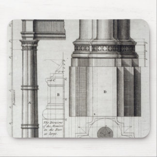 The Second Order of Gothic Architecture, 1741 Mouse Pad