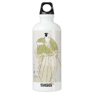 The Second Sawamura Sojuro in the Role of Yenya Aluminum Water Bottle