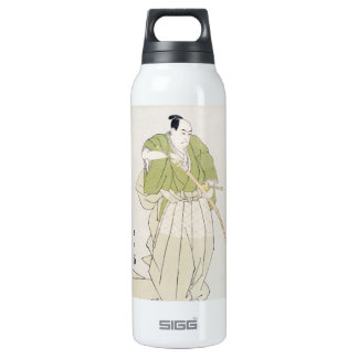 The Second Sawamura Sojuro in the Role of Yenya Insulated Water Bottle