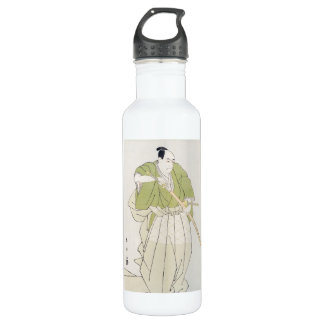 The Second Sawamura Sojuro in the Role of Yenya Water Bottle