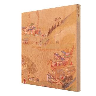 The Second Sui Emperor, Yangdi Canvas Print