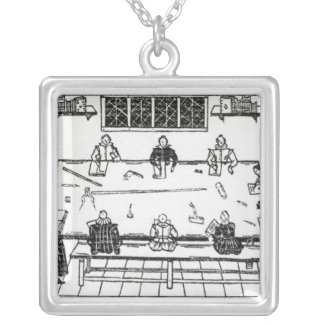 The Second Table of Good Nurture Silver Plated Necklace
