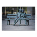 The Secret Bench Greeting Card