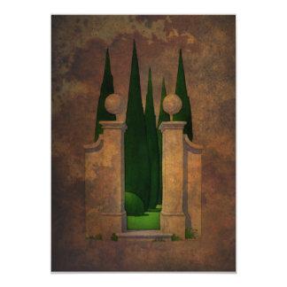 The Secret Garden Art Card