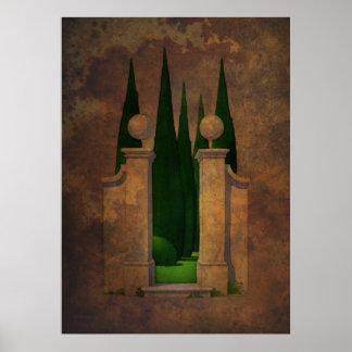 The Secret Garden Art Poster