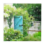 The Secret Garden Small Square Tile