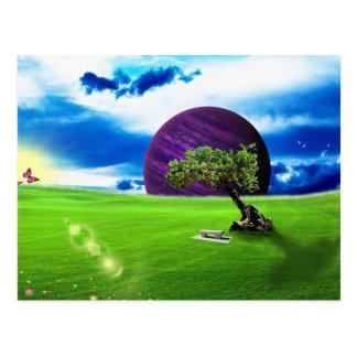 The Secret Meadow Postcard