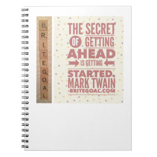 The Secret of Getting Ahead Notebook