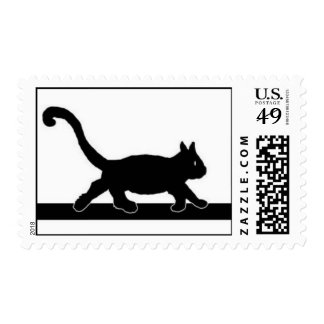 The secret of the black cat stamps