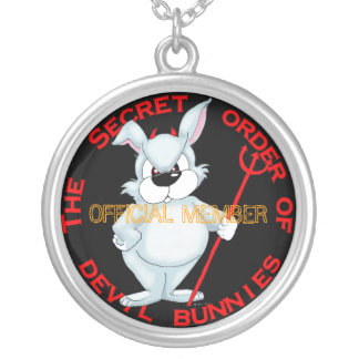 THE SECRET ORDER OF THE DEVIL BUNNIES NECKLACE