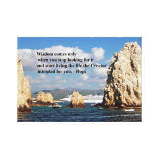 The secret path to wisdom canvas print