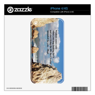The secret path to wisdom iPhone 4S decals