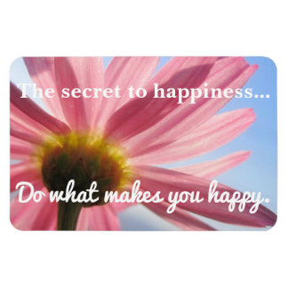 The Secret to Happiness Magnet
