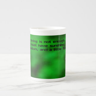 The secret to life tea cup