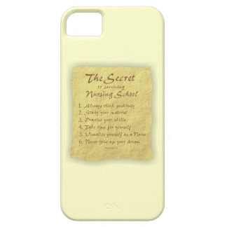 The Secret to Surviving Nursing School Cover For iPhone 5/5S