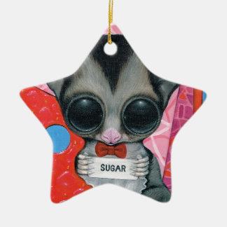 The Secret Word Ceramic Ornament