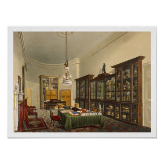 The Secretary's Room, Apsley House, by T. Boys, 18 Poster
