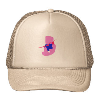 The Seed of Happiness Pink Mesh Hat