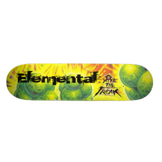 The Seed of Life-print, Elemental Skateboard Deck