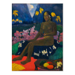 The Seed of the Areoi by Gauguin Postcard