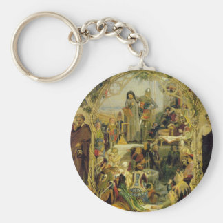The Seeds and Fruit of English Poetry by Ford Keychain